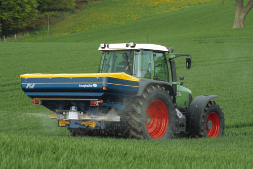 Spreading Fertiliser